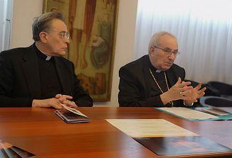 Nadškof Giampaolo Crepaldi predstavil ciklus predavanj v postnem času