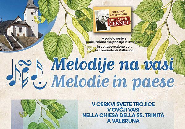 Spet bodo odmevale Melodije na vasi
