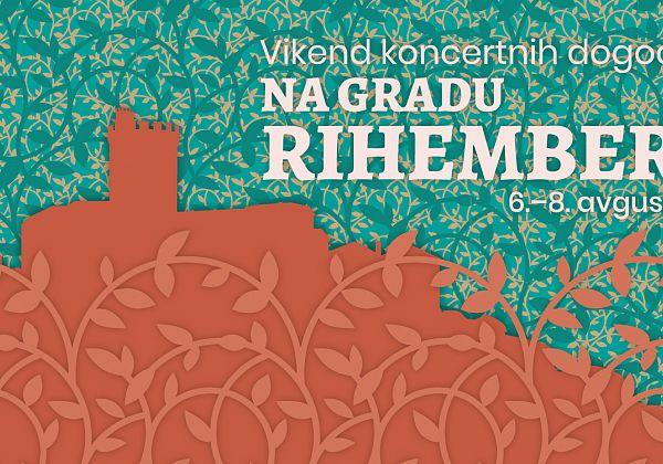 Vikend koncertnih dogodkov na gradu Rihemberk