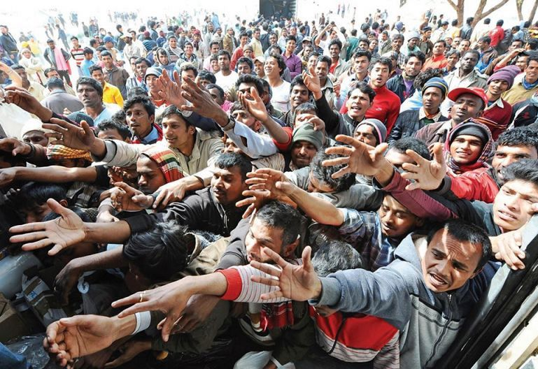 Sočutje in strah ob beguncih