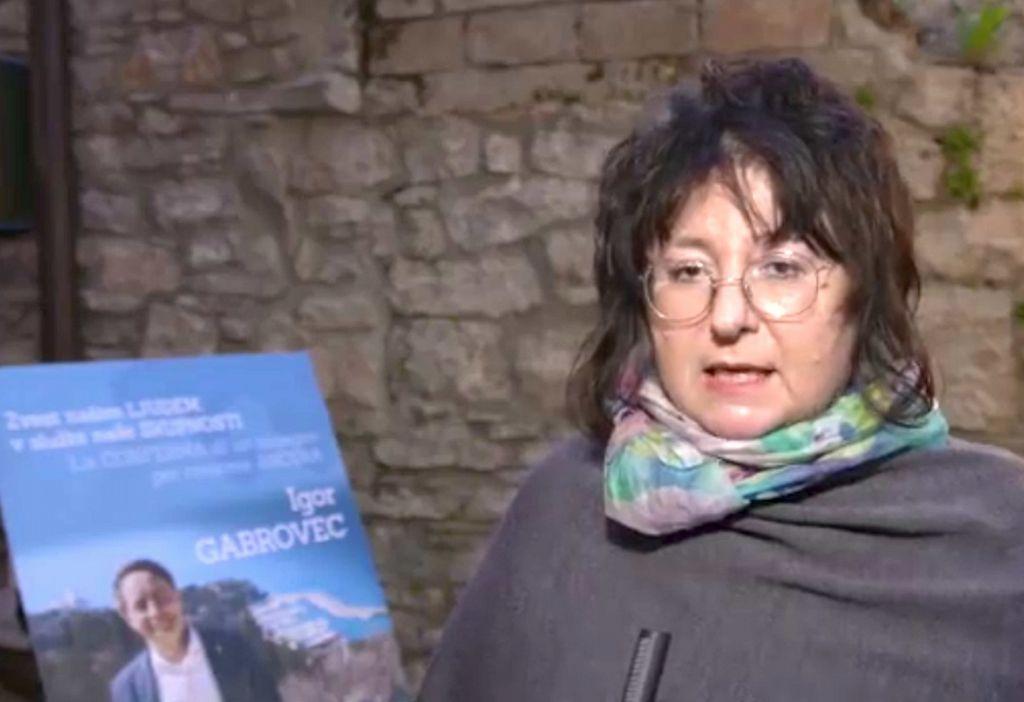 """Sen. Tatjana Rojc: """"Gabrovec je človek dialoga, ki si prizadeva za svoje ljudi in za svoj teritorij!"""""""