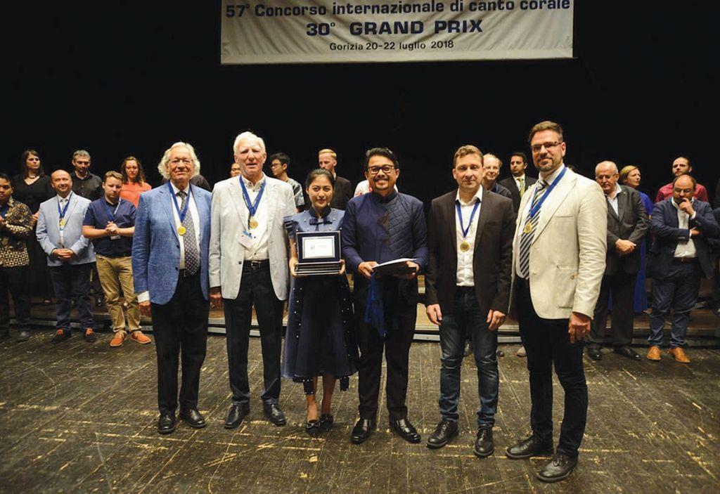Dobitnik velike nagrade je zbor Imusicapella