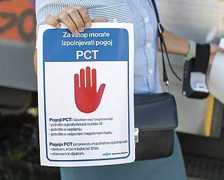 Brez pogoja PCT ne bo mogoč dostop do skoraj nobene dejavnosti