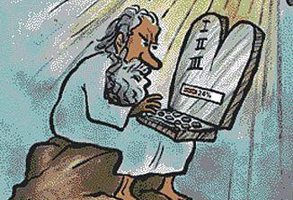 Vloga desetih Božjih zapovedi v sodobni družbi