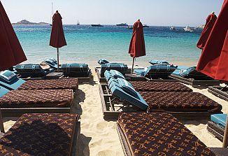 Visoka moda na grških plažah