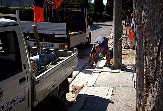 Pevma / Končno odprtje gradbišča za parkirišče
