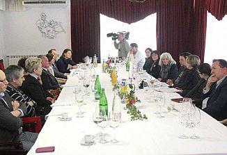 Z goriškimi predstavniki Slovencev  o nadgradnji odnosov