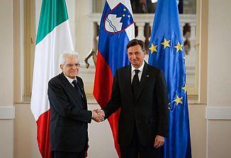 Pahor in Mattarella sta se dokončno dogovorila in potrdila program srečanja v Trstu