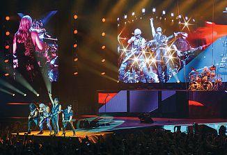 Nemški rokerji Scorpions so nastopili v Sloveniji