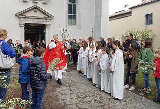 Začetek velikega tedna v Gorici