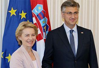 Slovenija bo verjetno preprečila vstop Hrvaške v schengensko območje!