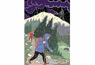 Nevihta v gorah (1)