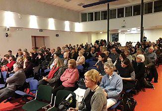 Italijansko občinstvo je spoznalo bogato delovanje Narodnega doma