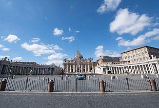 Papežev blagoslov ob pandemiji