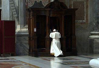 Papež Frančišek o spovedi
