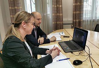 Ministrica za Slovence po svetu se je pogovarjala s predsednikoma krovnih organizacij