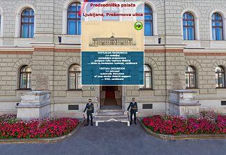 Ob državnem prazniku virtualni sprehod po Predsedniški palači