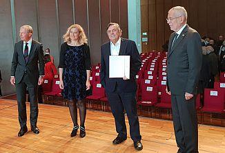 Drago Jančar je prejel nagrado za evropsko književnost