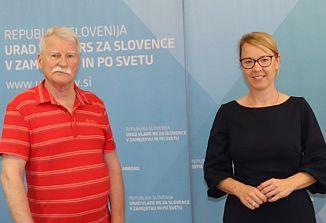 Skupno srečanje ZSŠDI in SŠZ pri ministrici Heleni Jaklitsch
