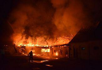 Velik požar poškodoval hrvaško svetišče v Mariji Bistrici