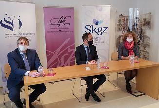 Zunanji minister Anže Logar na obisku