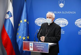 Nadškof Zore pozval k spoštovanju ukrepov