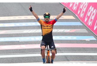 Jan Tratnik je zmagovalec 16. etape na Giru