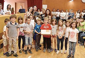 Ministrstvo za šolstvo je nagradilo goriško šolo Oton Župančič