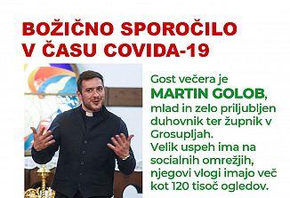 Srečanja pod lipami: Martin Golob – Božično sporočilo v času covida-19