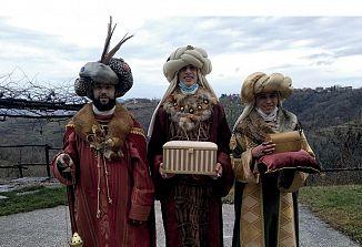 Sveti trije kralji v števerjanski cerkvi