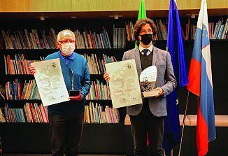 Letošnje priznanje sta prejela Božo Zuanella in Patrick Quaggiato