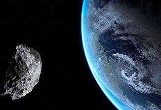 Orjaški asteroid letel mimo Zemlje