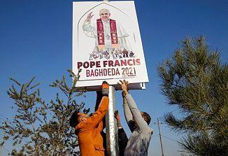 Papeževo potovanje v Irak