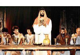 Drabosnjakov Pasijon, uprizorjen l. 1990