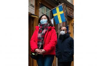 """""""Zarotniki"""" pro-mask na Švedskem"""