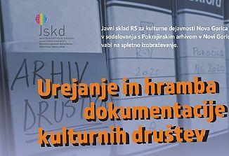 JSKD Nova Gorica / Vabilo na spletno izobraževanje