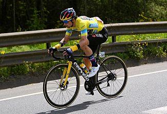 Primož Roglič zmagal na dirki po Baskiji