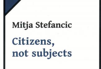 Knjiga esejev Mitje Stefancica