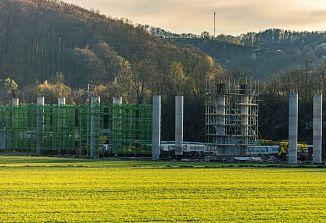 Nastaja najdaljši železniški viadukt v Sloveniji