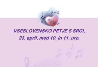 Vseslovensko petje s srci bo četrtič povezalo Slovence doma in po svetu