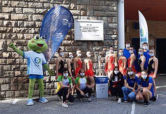 Slovenska olimpijska bakla  v zibelki zamejskega športa