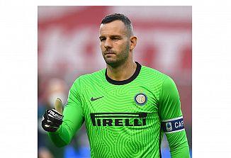 Kapetan Handanović prvak  z Interjem