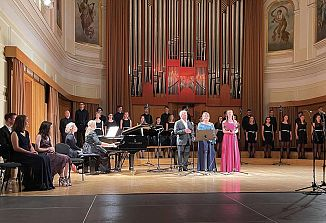 Tudi komelovci v dvorani Slovenske filharmonije