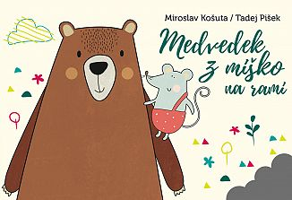Medved z miško na rami vabi otroke v gledališče!