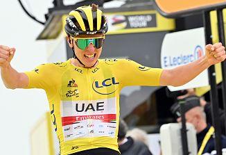 Tadej Pogačar drugič zapored  zmagal na sloviti kolesarski dirki po Franciji!
