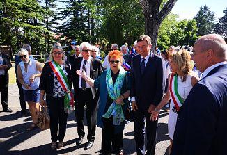 Predsednik RS Borut Pahor na obisku v Križu
