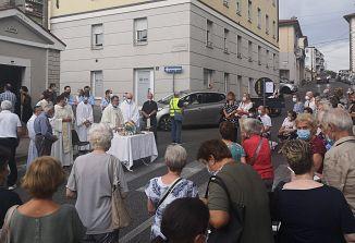 Blagoslov obnovljene kapelice sv. Ane