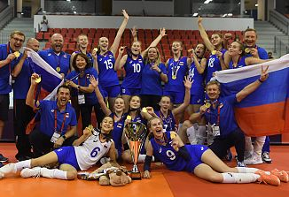 Z rusko dekliško reprezentanco do evropskega zlata!