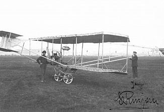 Aerorally od Gorice do Beograda ob 110. obletnici smrti Edvarda Rusjana