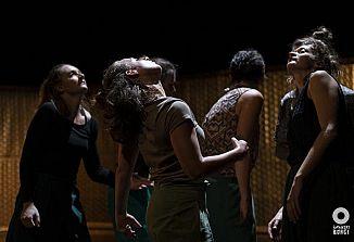 Plesna predstava Skupaj / Together v amfiteatru v Kromberku